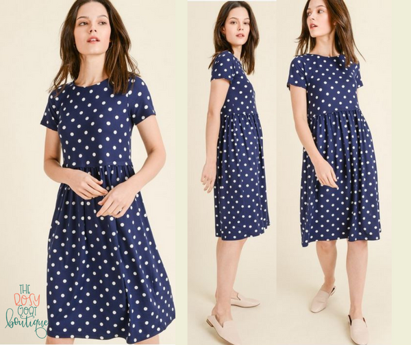 Sarah Polka Dot Dress