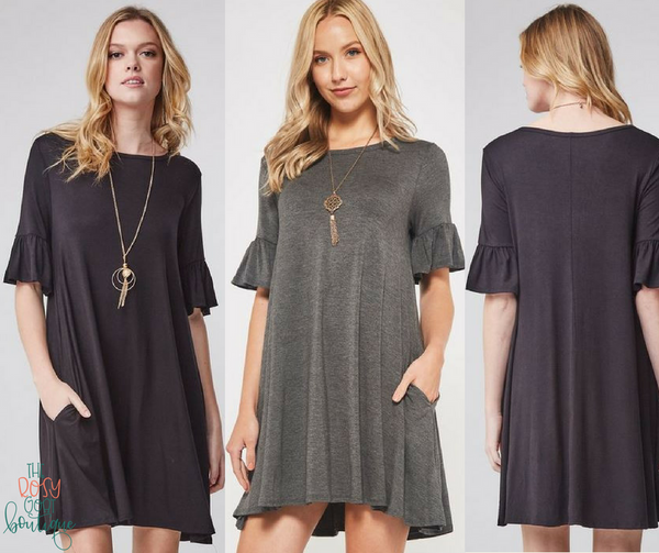 Sophie Bell Sleeve Dress
