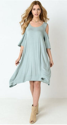 Alex Cold Shoulder Dress