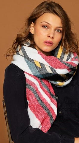 Claire Scarf - Ivory