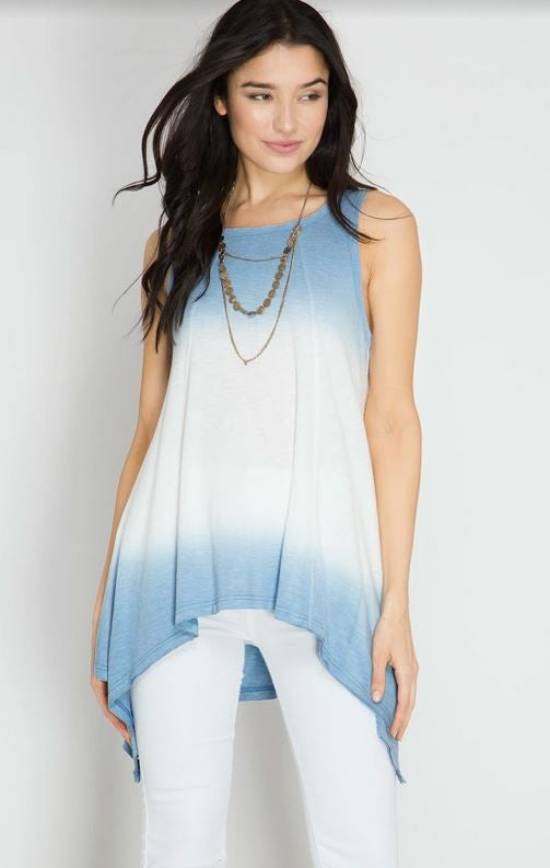 Ombre Dipped Tunic