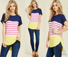 Happy Stripe Top