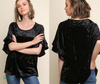 Kinsley Velvet Top