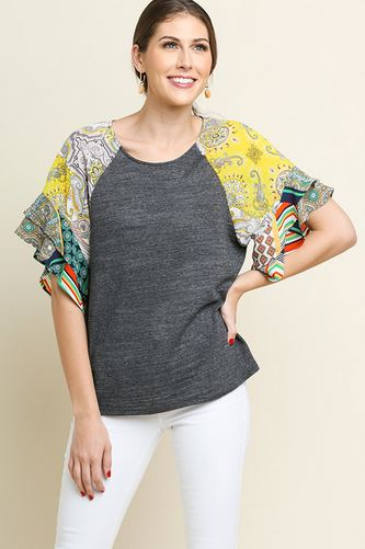 Kinsley Printed Top