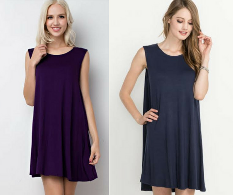 The Trapeze Jersey Dress