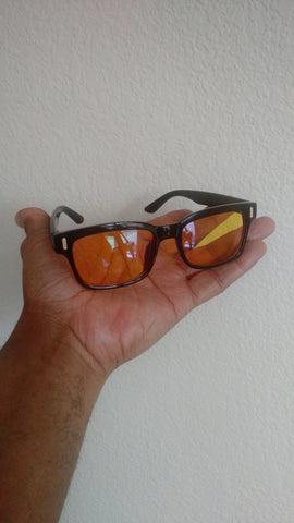 anti-blue light-ray computer glasses in-hand