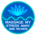 Massage My Stress Away Site Logo - Buy Today!