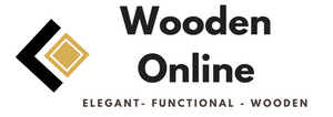 Wooden Online Checkout Logo - Elegant | Functional | Wooden