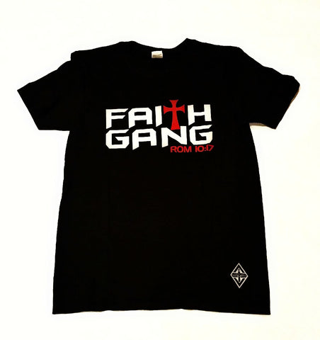 Faith Gang Tee | Black.Red.White