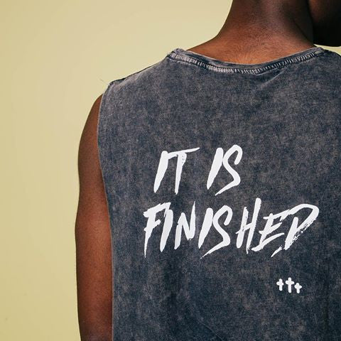 It Is Finished Muscle Tee (Unisex)
