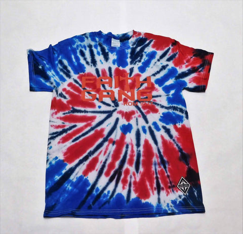 Faith Gang Tie Die Tee