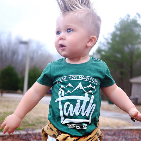 Faith Youth Tee | Green