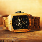 Rejoice Watch-Bethlehem Olive Wood