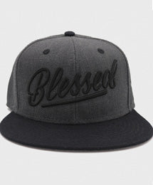 Blessed Snapback | Heather Grey