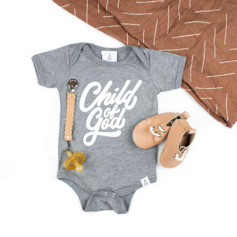 Child of God Onesie | Light Grey
