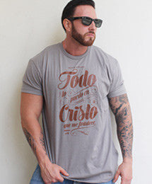 Camisa Filipenses | Gris