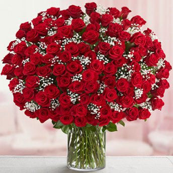 150 red roses bunch <3 - saysurprise