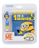 Minions Pen And Diary Set Yellow - 2 Pieces - saysurprise