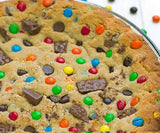 Chocolate Chip Cookie & Gems pizza - saysurprise
