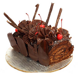 Chocolate swiss roll cake 1 kg - saysurprise