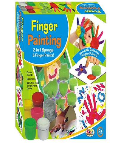 Ekta Finger Painting - With 18 Colors - saysurprise