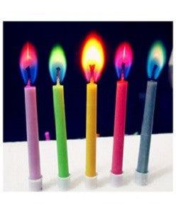 Colored light candle - saysurprise