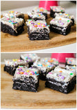 Cookies & Cream Oreo Brownies - saysurprise