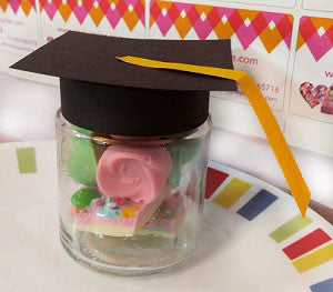 Graduation chocolate jar - saysurprise