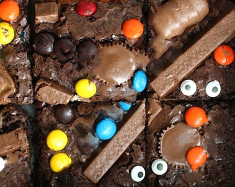 Halloween Sheet Brownies - 1/2 kg - saysurprise