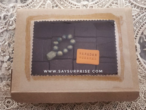 Brownies ramadan giftbox - 400 grams