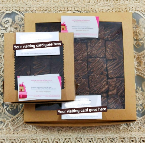 Brownies gift box