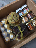 Luxury Box Brownies, Nutella, Cookies and Dry fruits