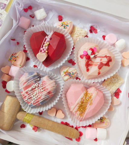 Luxury Heart Pinata Treat box