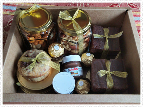Luxury Hulk Box Brownies, Nutella, Cookies, Ferrero and Dry fruits