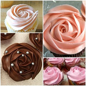 Rose assorted cupcakes gift-box - saysurprise