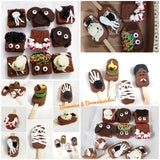 Halloween Brownies & Browniesicles Mini Gift box