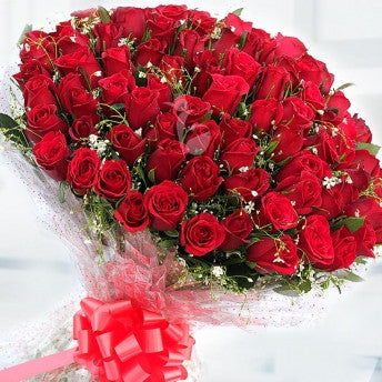 100 red roses <3 - saysurprise