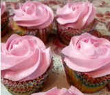 Rose mini cupcakes - saysurprise