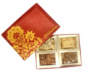 Assorted Dry Fruit Gift Box - 200 grams - saysurprise