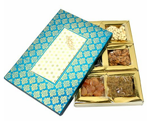 Assorted Dry Fruit Gift Box - 450 grams - saysurprise