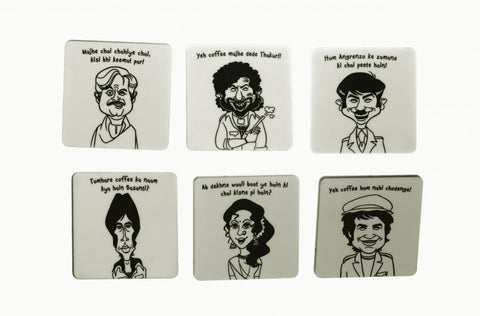 Sholay Tribute Coasters - saysurprise