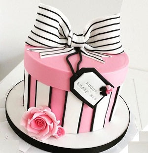 Gift box fondant cake on request 1 kg saysurprise gift box fondant cake on request 1 kg negle Images