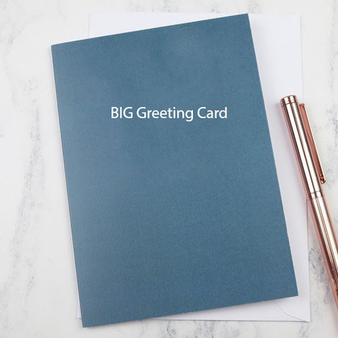 Big greeting card