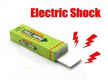 Chewing Gum Electric Shock Gag - saysurprise