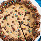 Chocolate Chip Cookie Cake - saysurprise