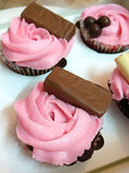 Rose stuffed cupcakes gift box - saysurprise