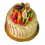 Exotic fresh fruit cake 1 kg - saysurprise