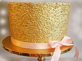 Gold sequin chocolate cake 1 kg - saysurprise
