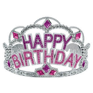 Happy Birthday tiara - saysurprise