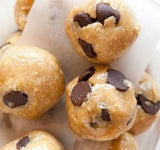 Chocolate dipped cookie dough balls - saysurprise